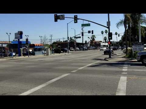 San Fernando Road In San Fernando, CA