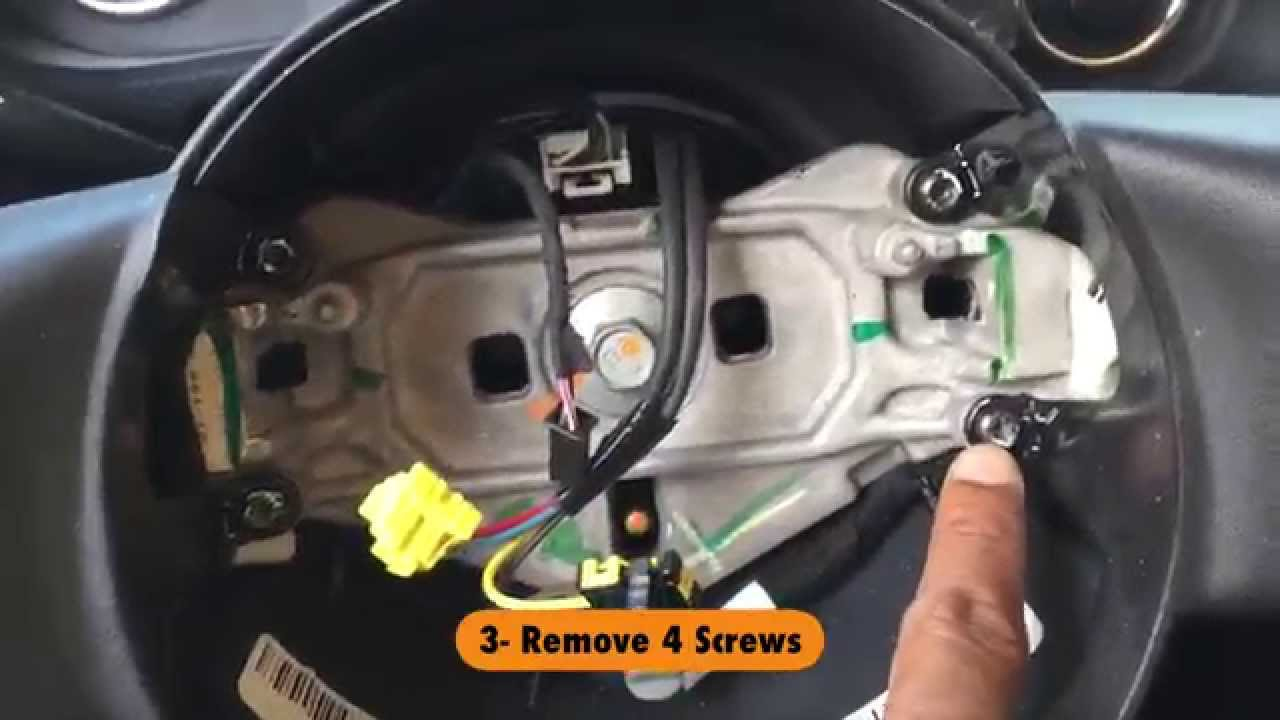 2015 Dodge Ram 2500 Fuse Box Diagram Jeep Wrangler Steering Wheel Trim Removal Youtube