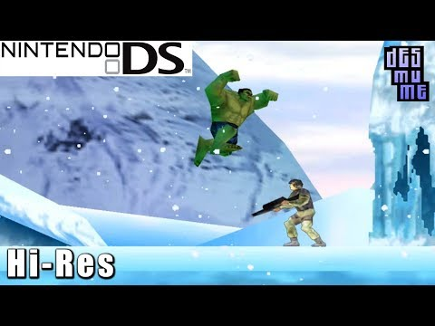The Incredible Hulk - Nintendo DS Gameplay High Resolution (DeSmuME)