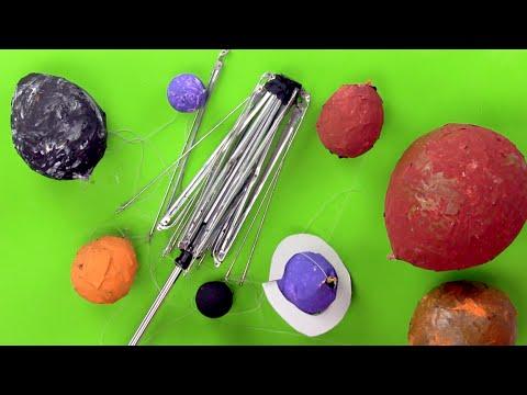 Como hacer paso a paso el sistema solar youtube - Como hacer una cometa paso a paso ...