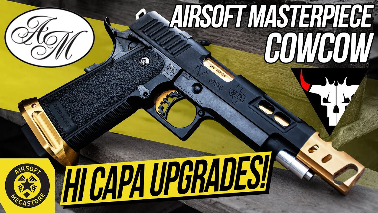Time for an Upgrade | Airsoft Masterpiece & COWCOW Hi Capa Parts | Airsoft  Megastore