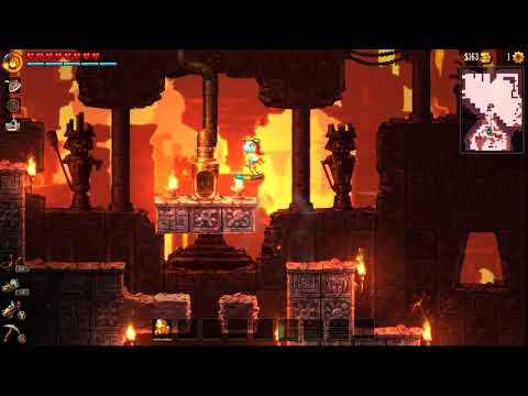 Let's Play Steamworld Dig 2 - 21 - Air Superiority |