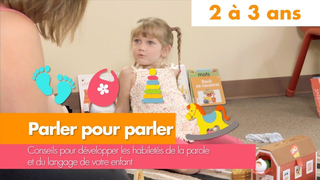 Bureau Enfant 2 Ans parler pour parler : 2 à 3 ans