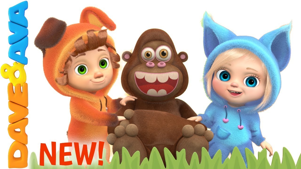 😎 Down in the Jungle | New Nursery Rhymes from Dave and Ava 😎