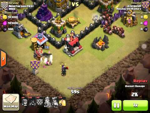 Clash of Clans Funny Defense Witches