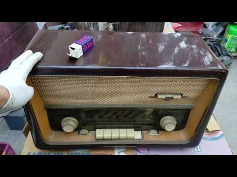 EMUD 60 German radio philco-ford television and 100.3 FM the sound eol