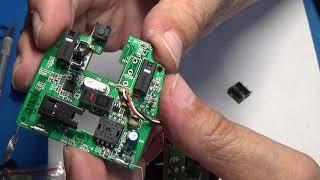 Замена кнопки в мышке