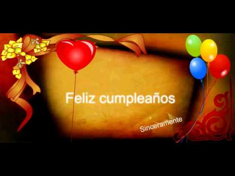 Feliz Cumpleanos Video Animado.Feliz Cumpleanos Videos Animados Youtube
