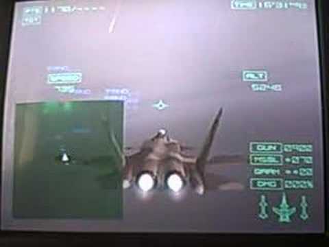 ace combat 04 mission 18 megalith with a S-37A