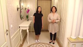 Современная классика в Астане  Квартира 100 кв м  Камила Мамытбекова