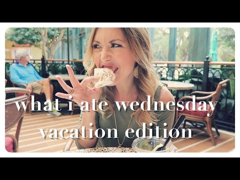 what i ate wednesday | vacation edition