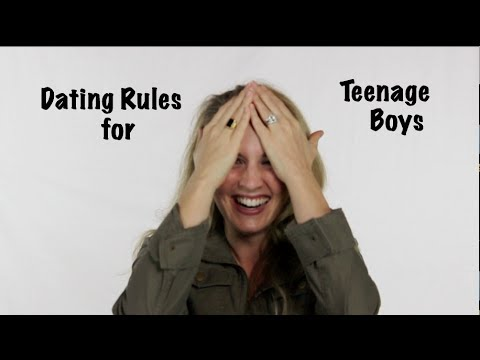 Teenage son dating rules