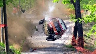 The best compilation of rally crashes 2 / fail / drift / exhaust / awesome!! [hd] ★ the best!! ★