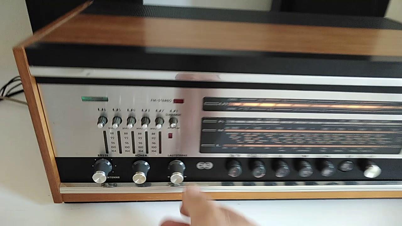 grundig stereomeister 3000 valvolare hifi receiver. Black Bedroom Furniture Sets. Home Design Ideas