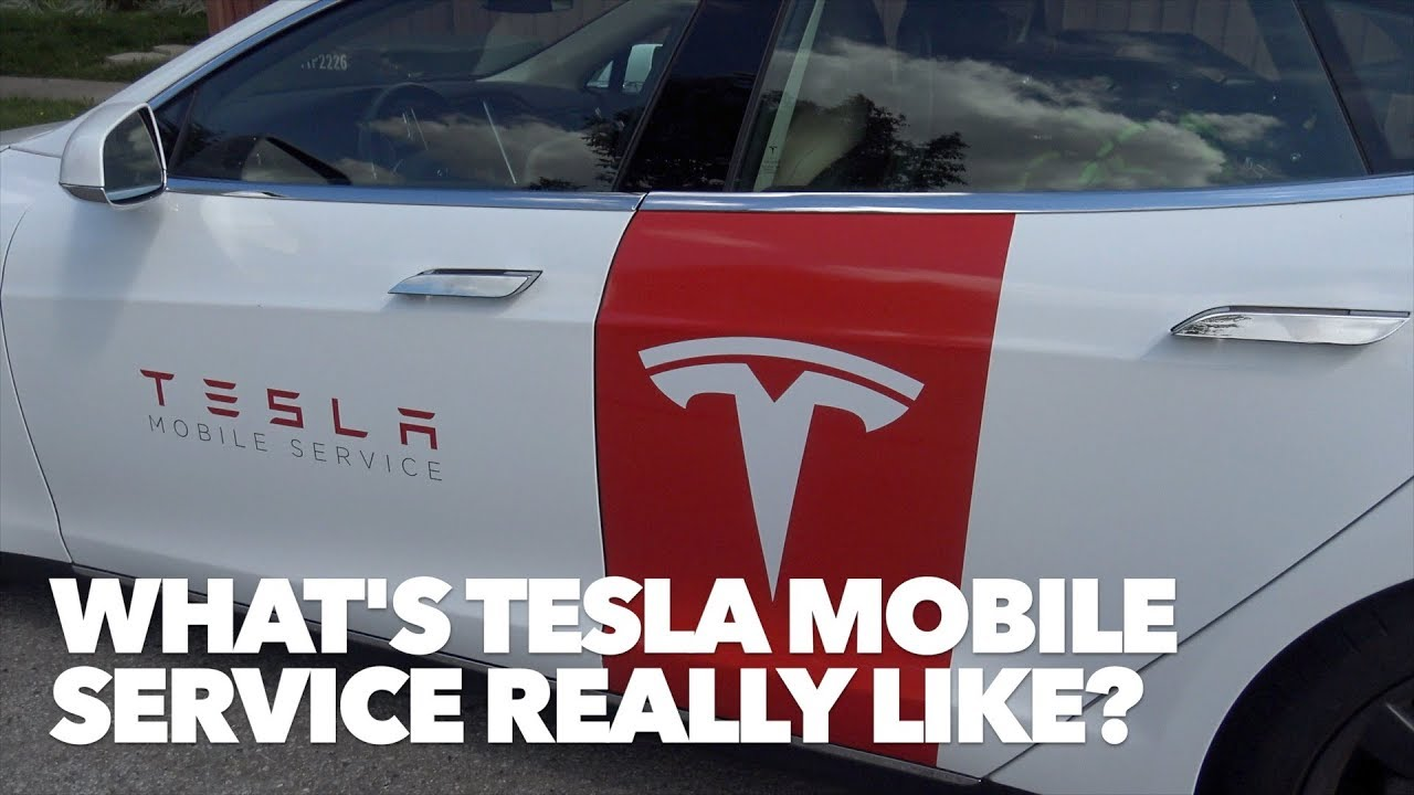 What S Tesla Mobile Service Really Like Youtube