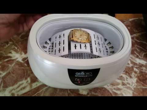 Ultrasonic Jewelry Cleaner. Sparklespa!