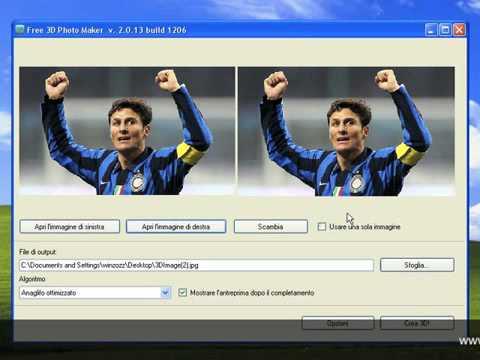 Guida trasformare foto 2d in 3d youtube for Programmi 3d free