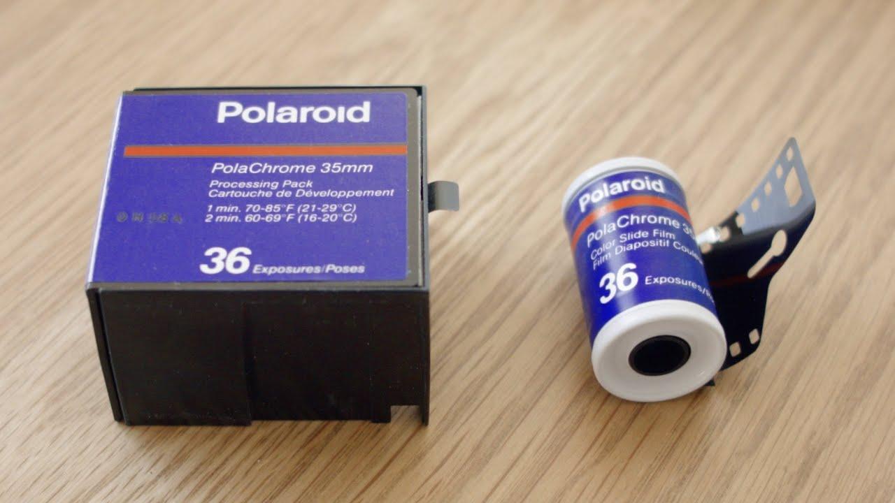 demo polaroid polachrome 35mm instant slide film youtube