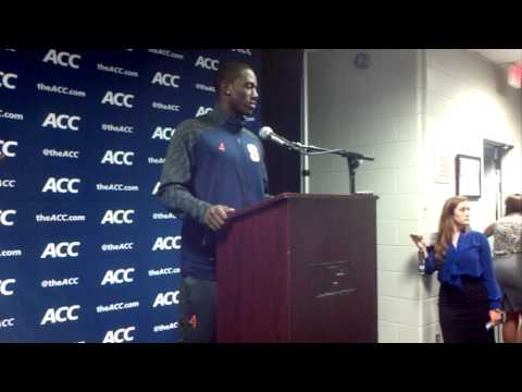 Syracuse Orange CB Brandon Reddish Postgame vs Penn State (Video by Dan Tortora)