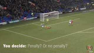 YOU DECIDE: Penalty or no penalty? - Charlton Athletic