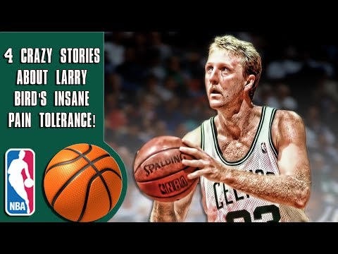 4 Crazy stories that prove Larry Bird is the toughest player in NBA history!