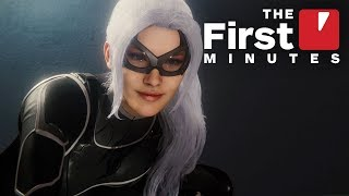 The First 18 Minutes of Spider-Man PS4 - The Heist DLC