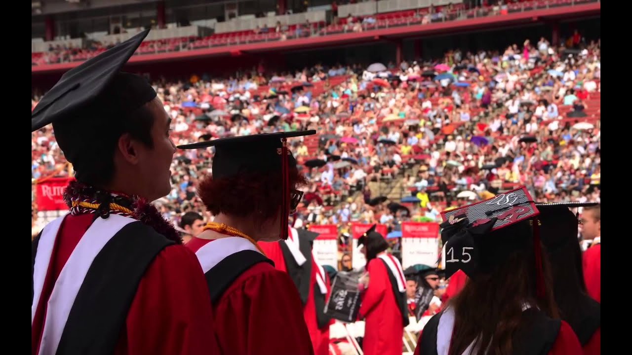 2015 Rutgers School of Arts and Sciences Convocation - YouTube