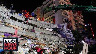 News Wrap: Deadly Earthquake Rattles Turkey, Greece