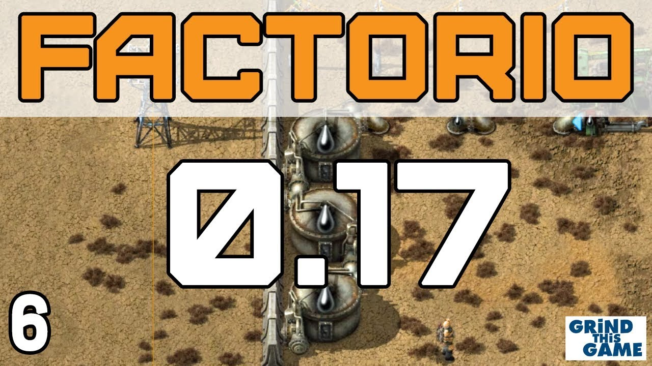 Factorio 0 17 - Oil Setup #6 - Spaghetti Factory Series