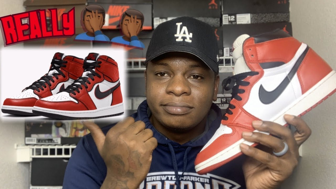 AIR JORDAN 1 BLOODLINE 2.0 REVIEW... GIVE US THE THE AIR JORDAN 1 CHICAGO ‼️
