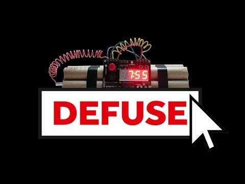 HURRY! CLICK TWICE TO DEFUSE THIS BOMB! (Keep Talking and No One Explodes - Part 3)