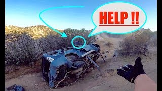 SAVING A LIFE IN THE HILLS!!!(JEEP CRASH)
