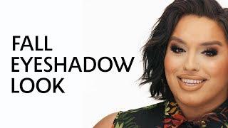 Fall Eyeshadow Look ft. HUDA BEAUTY Obsessions Eyeshadow Palette | Sephora