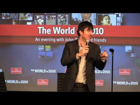 """John Oliver at The Economist's """"World in 2010"""" Festival"""