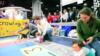 NBC4 Health and Fitness Expo Crawling Baby Race (2012)