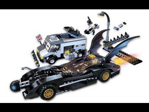 Lego Batman 7781 The Batmobile Two Faces Escape Youtube