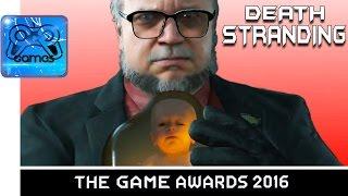 DEATH STRANDING - Трейлер с GAME AWARDS 2016 [PS4 PRO, 4K] - Взрыв Мозга от Хидео Кодзимы!