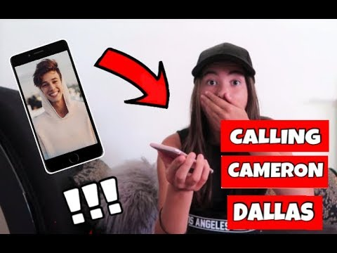CALLING CAMERON DALLAS (HE ANSWERED)