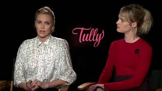 Charlize Theron & Mackenzi Davis Tully Full Interview