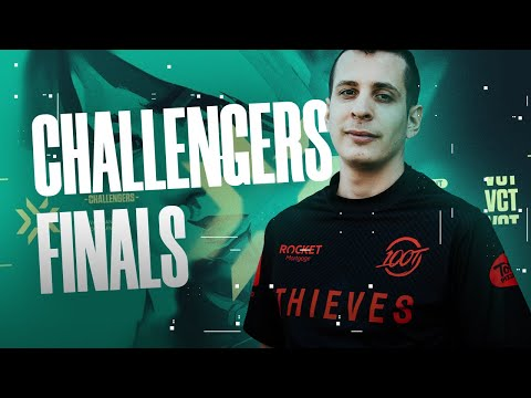QUALIFIED FOR THE CHALLENGERS FINALS | 100T steel Valorant highlights