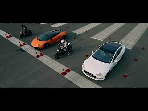 NIU N-GTX vs Lamborghini