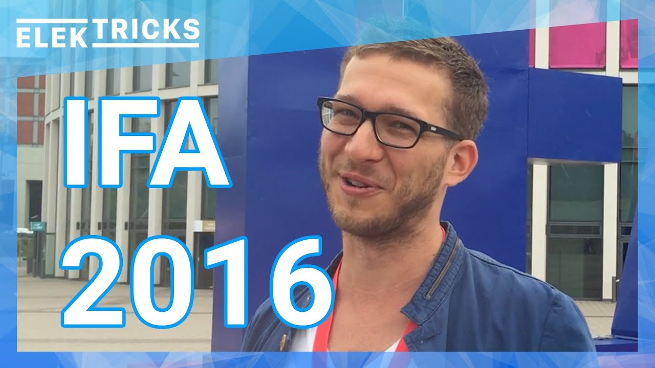 ifa 2016 highlights elektricks robin tv youtube. Black Bedroom Furniture Sets. Home Design Ideas