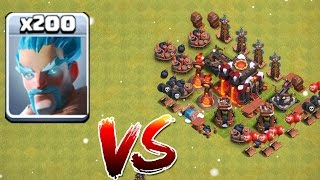 200 EISMAGIER VS. TROLL BASE! || CLASH OF CLANS || LP CoC [Deutsch/German HD+]