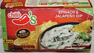 Chili's: Spinach & Jalapeno Dip Review