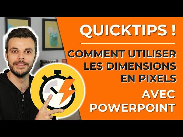 Comment créer facilement une bannière avec PowerPoint et avoir les dimensions en pixels