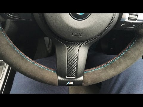 Bmw F30 Alcantara Re Trimmed Steering Wheel M Performance From