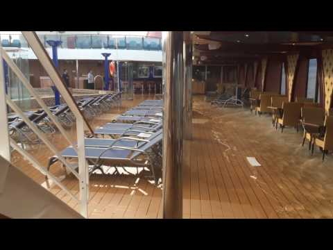 Carnival's Legend experiences azipod failure and begins to list heavily