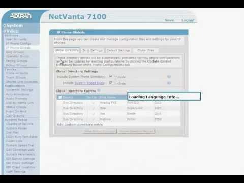 video] - Changing the Name Assigned to a Phone    |ADTRAN