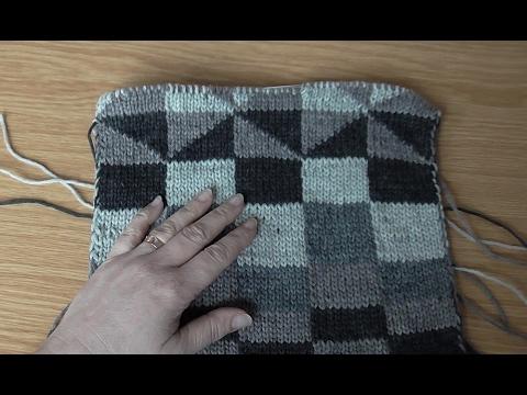 cae535081b12 Škola pletení  oboustranné pletení - reverse knitting - YouTube