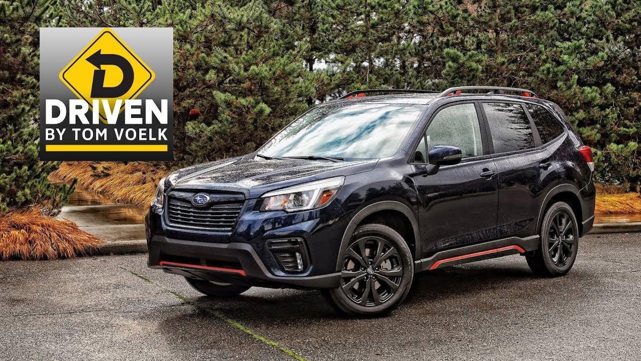Driven 2019 Subaru Forester Sport  YouTube